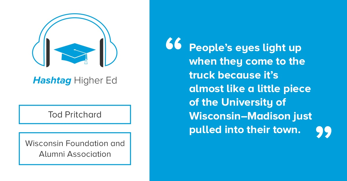 Hashtag Higher Ed Podcast Tod Pritchard