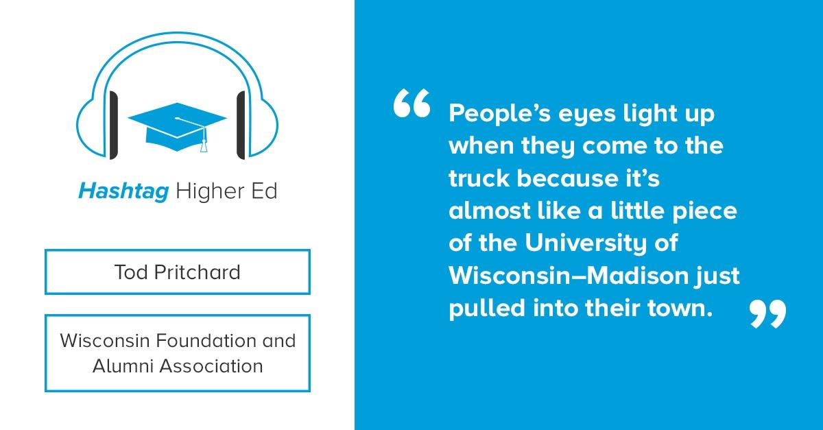 Hashtag Higher Ed Podcast Tod Pritchard