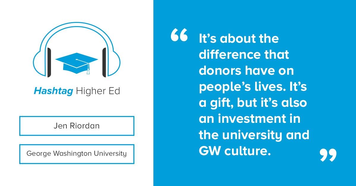 George Washington University Making History Campaign