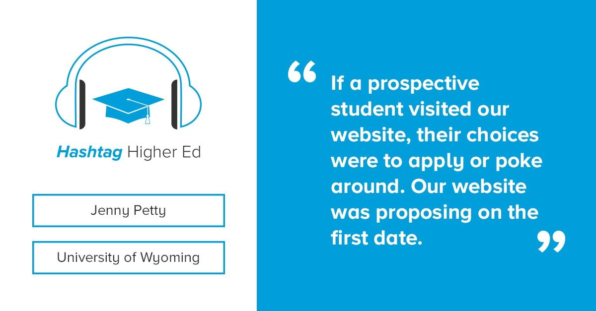 Hashtag Higher Ed Podcast University of Wyoming
