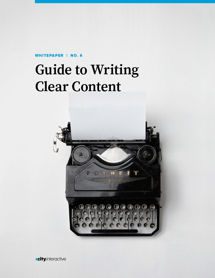 Guide to Clear Content White Paper Cover