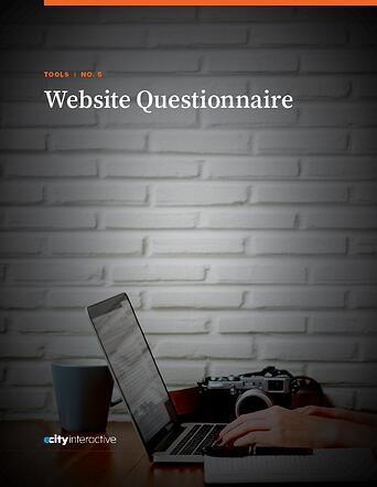 Website Questionnaire Cover Image